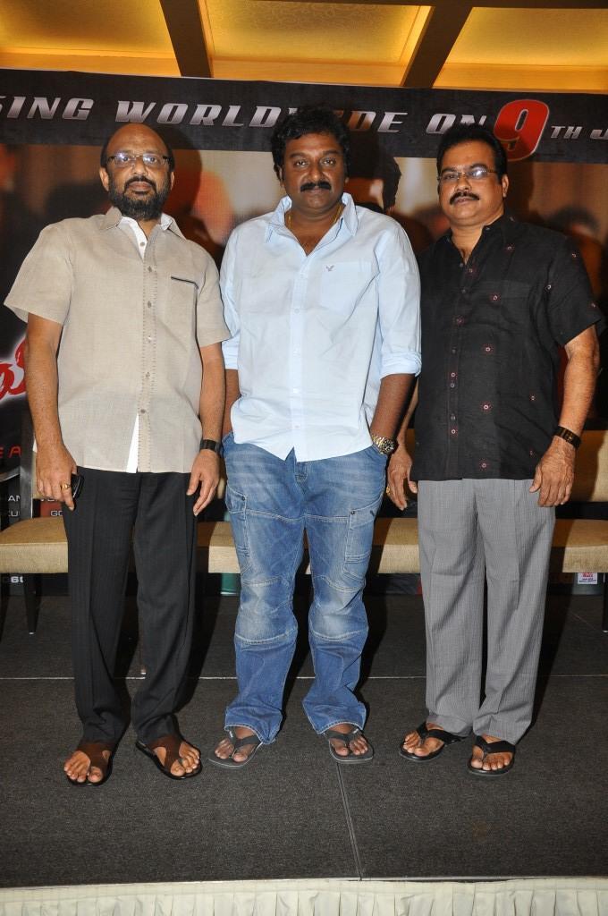 D.V.V Danayya And V. V. Vinayak Attend The Naayak Movie Press Meet