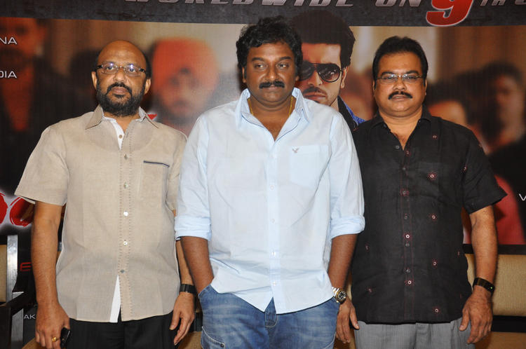 D.V.V Danayya And V. V. Vinayak Posed At Naayak Movie Press Meet