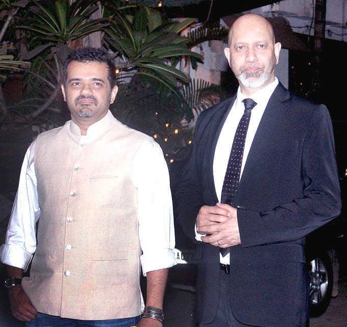 Music Composers Ehsaan And Loy Posed For Camera At Shaad Alis Wedding Bash