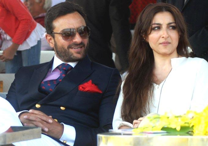 Saif And Soha Ali Khan Dashing Look Photo Still