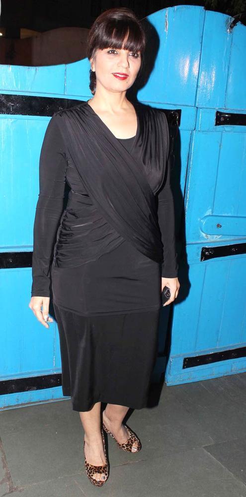 Neeta Lulla Snapped At Dabboo Ratnanis Calendar Launch