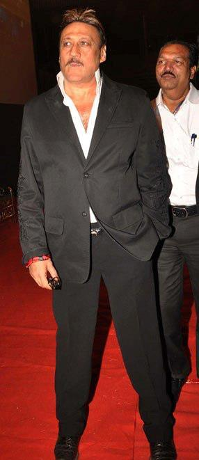 Jackie Shroff Spotted On Red Carpet At Umang Police Show 2013