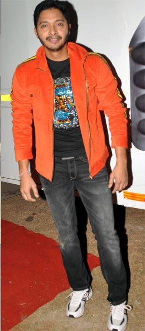 Shreyas Talpade Looking Cool Pose For Camera At Umang Police Show 2013
