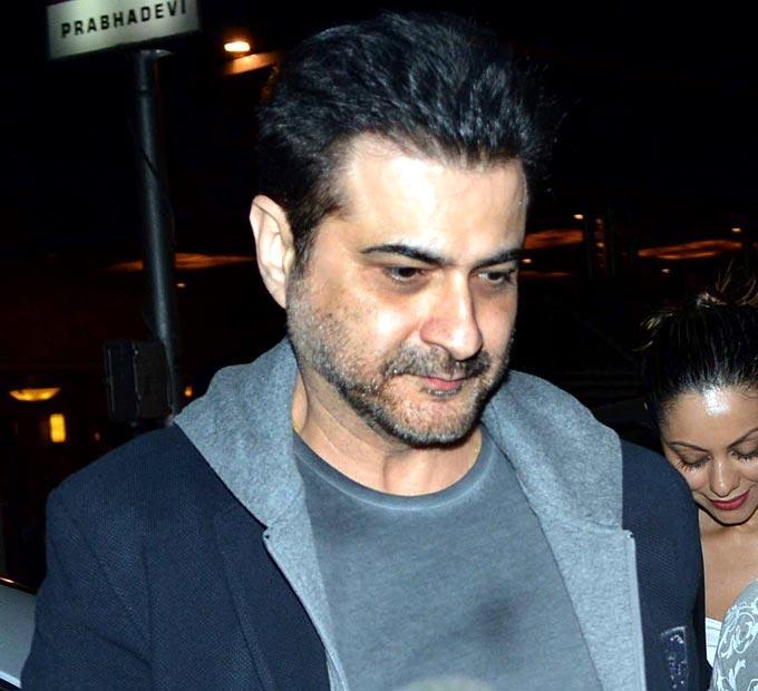 Sanjay Kapoor Spotted At Hritik Roshan Birthday Bash