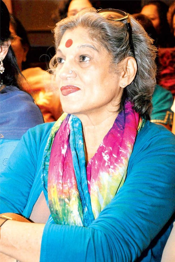 Dolly Thakore Listens In Rapt Attention At The Annual Get Together Of Puncham