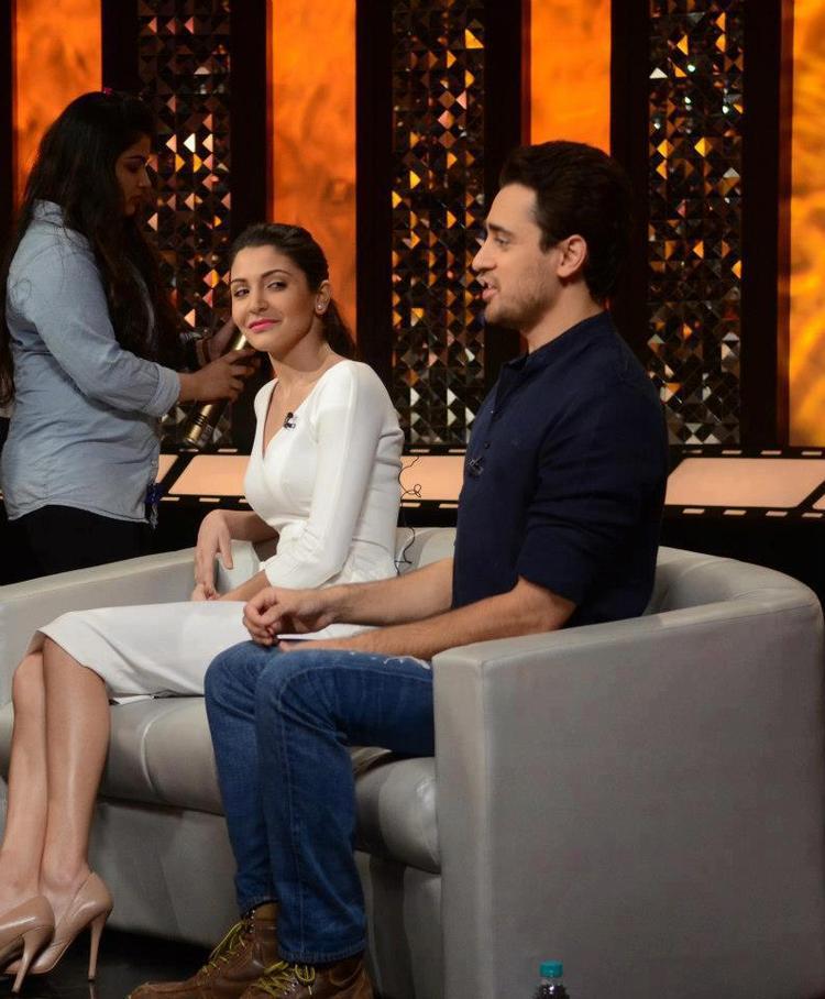 Imran Khan And Anushka Sharma On The Front Row Show With Anupama Chopra
