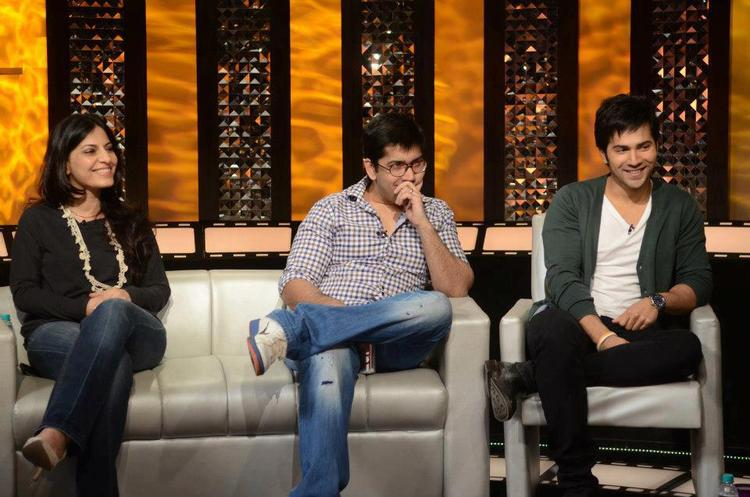 Varun Dhawan On The Front Row Show