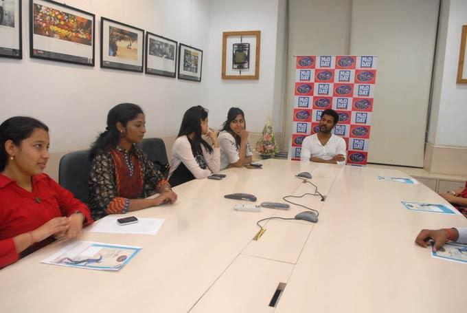 Prabhu Deva Visits MiD DAY Office For Promoting ABCD Movie