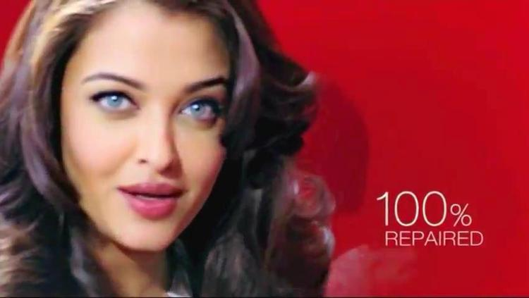 Aishwarya Trendy Hair Look Photo Shoot For L'Oreal Paris Total Repair 5 Ad