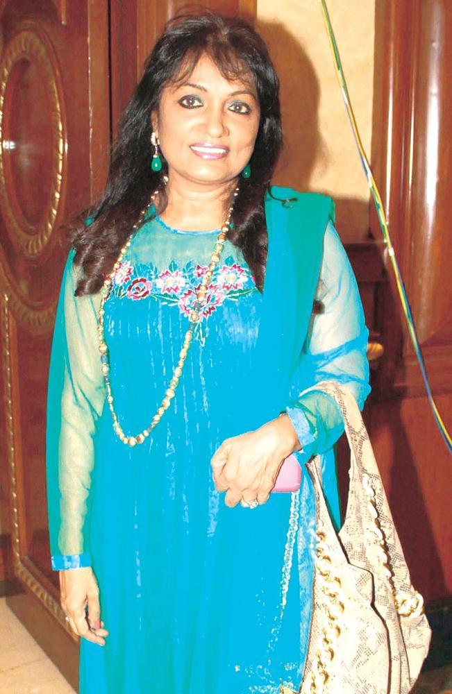 Rajyalaxmi Rao Posed For Camera At Trends 2013 Exhibition