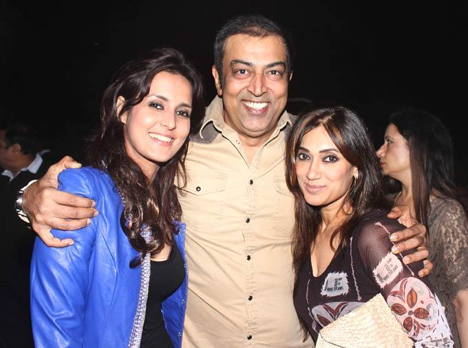 Vindoo With Lucky And A Guest At Ranjeet And Wife Nazneen Dinner Party