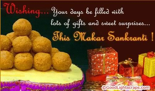 Makar Sankranti Best Wishes Gift  Wallpaper