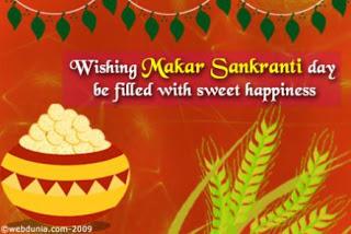 Makar Sankranti Best Wishes Wallpaper