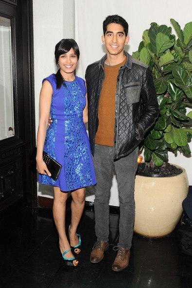 Freida With Boyfriend Dev Patel Spotted At Golden Globes Pre Party