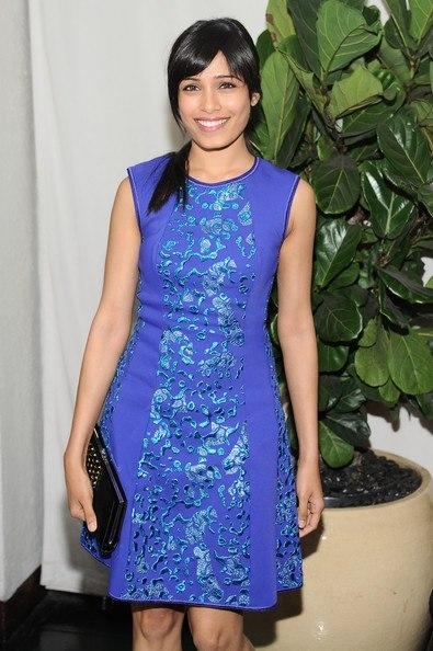 Freida Pinto Make An Appearance At Golden Globes Pre Party