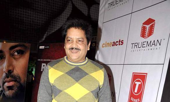 Udit Narayan Make An Appearance At The Premiere Of The Film Rajdhani Express