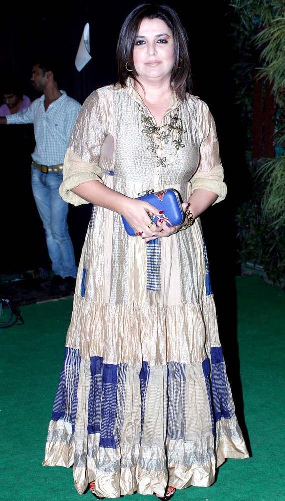 Farah Khan Glamour Look At Mana Shetty Store Launch