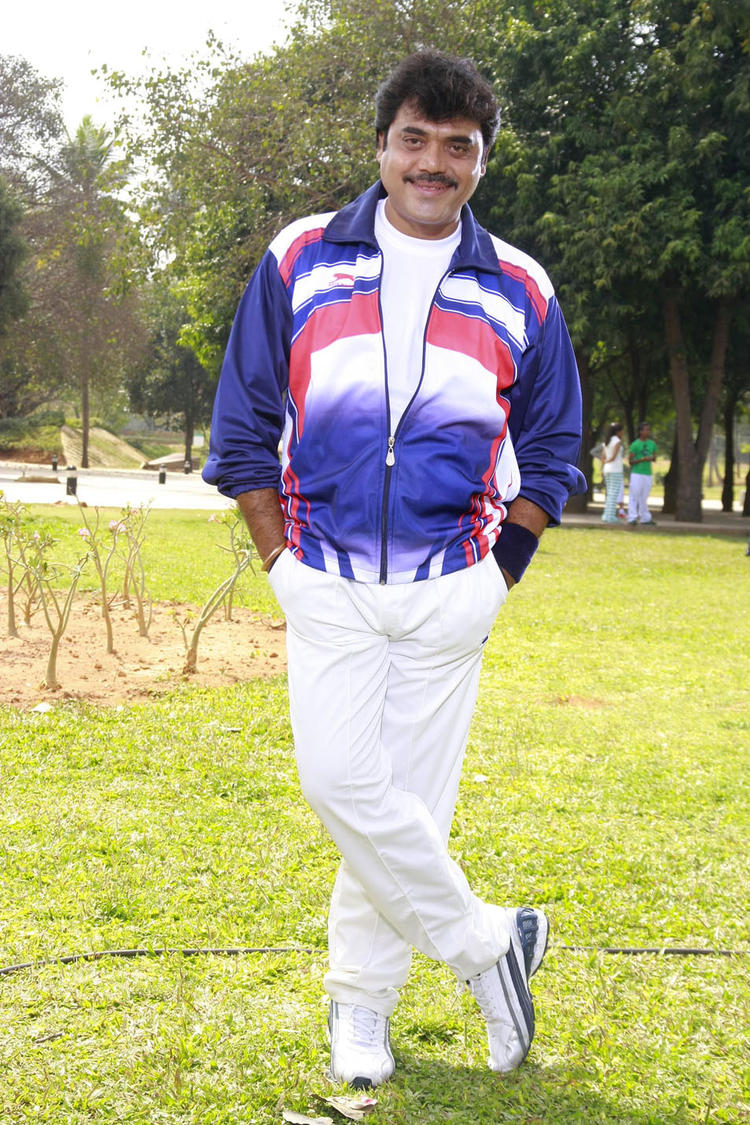 Shashikumar Stylish Pose Photo From Kannada Movie Galate