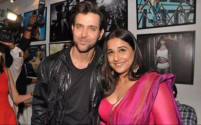 Hrithik And Vidya make An Appearance At Dabboo Ratnanis 2013 Calendar Launch