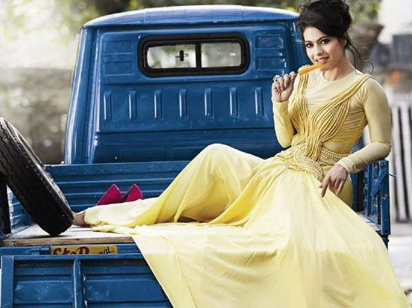 Kajol Gorgeous Look Photo In A Gown For Dabboo Ratnanis 2013 Calendar