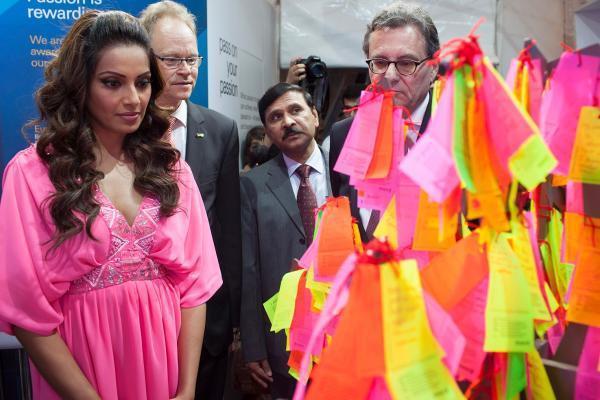 Bipasha Basu Attend The Indo-German Urban Mela In Pune
