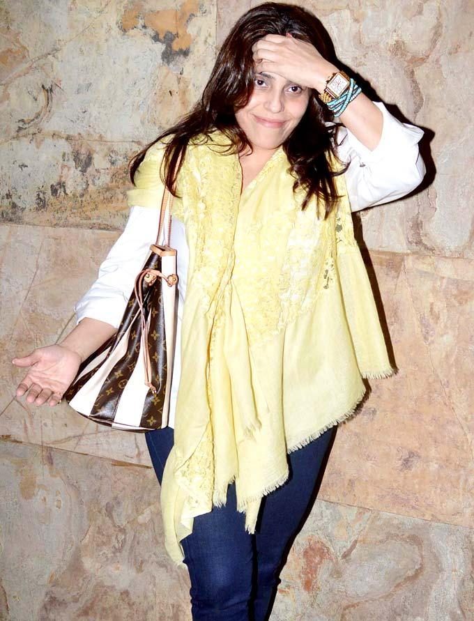 A Celeb Gorgeous Photo At Special Screening Of Inkaar