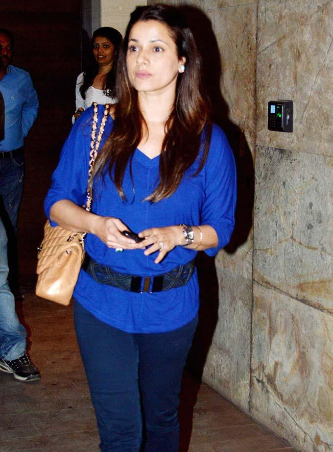 Neelam Soni Make An Appearance At Special Screening Of Inkaar