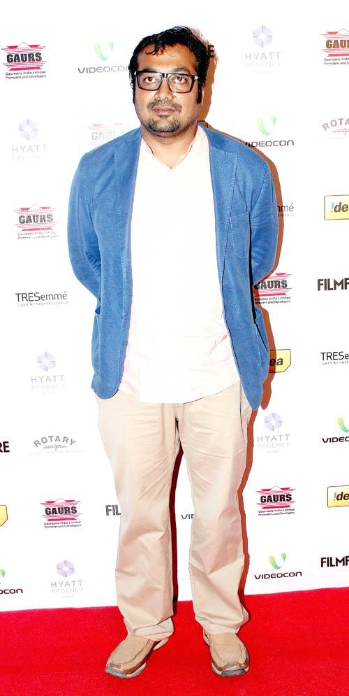Anurag Photo Clicked At The 57th Filmfare Nomination Party