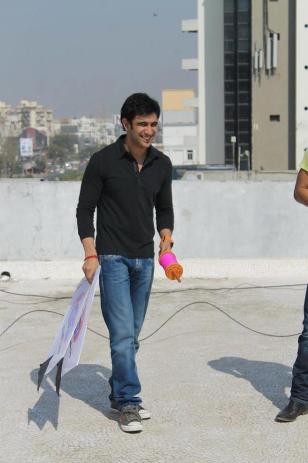Amit Sadh Smiling During The Promotion Of Kai Po Che