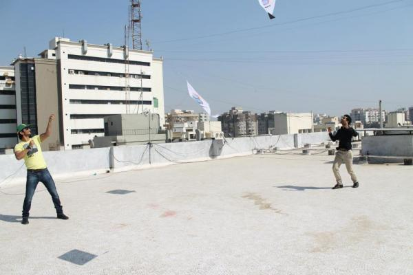 Sushant And Raj Kumar Cooled With Kite Flying During The Promotion Of Kai Po Che