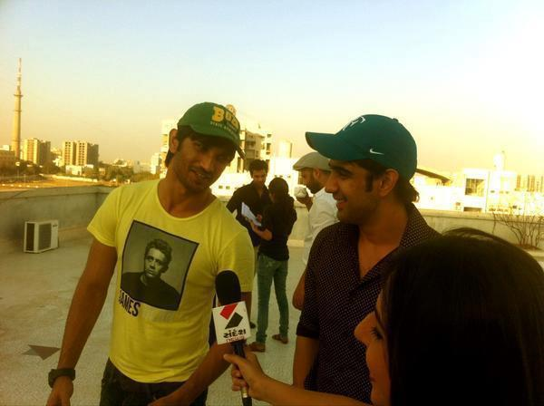 Sushant Singh Rajput Addresses The Media During The Promotion Of Kai Po Che