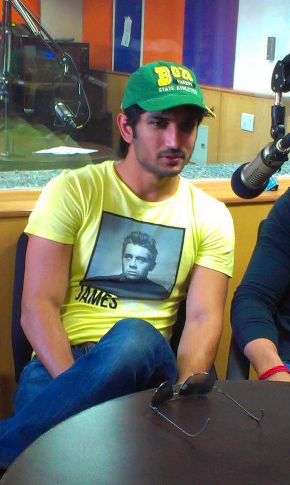 Sushant Singh Rajput Meets Media During The Promotion Of Kai Po Che