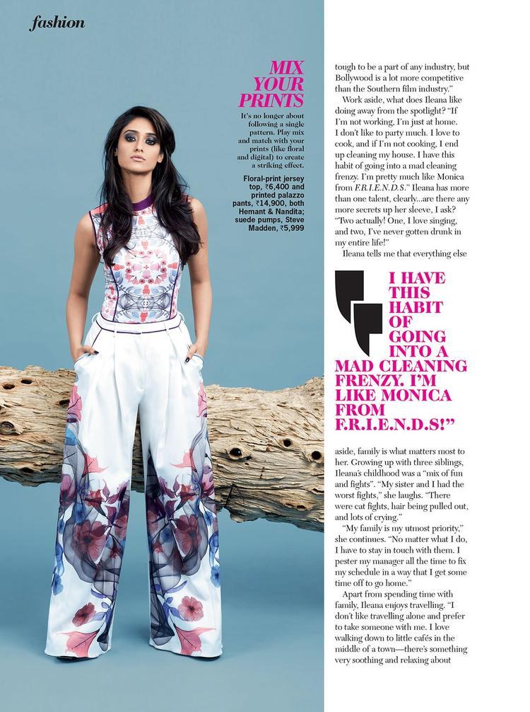 Ileana Glamorous Look Still On Cosmopolitan India Magazine 2013