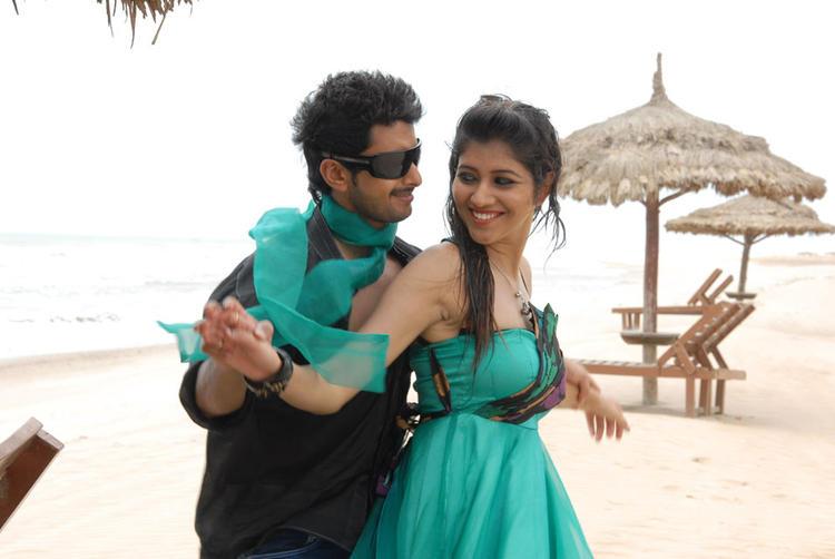 Tarun And Akila Romance Photo In A Song From Pade Pade Kannada Movie