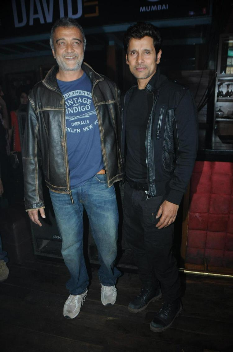 Lucky With Vikram Photo Clicked At David Music Launch And Live Music Concert
