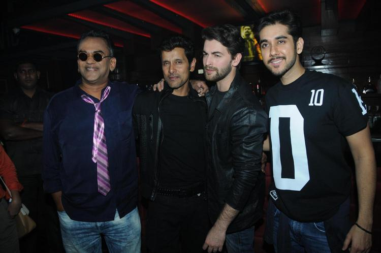 Remo,Vinay ,Vikram And Neil Make An Appearance At David Music Launch And Live Music Concert