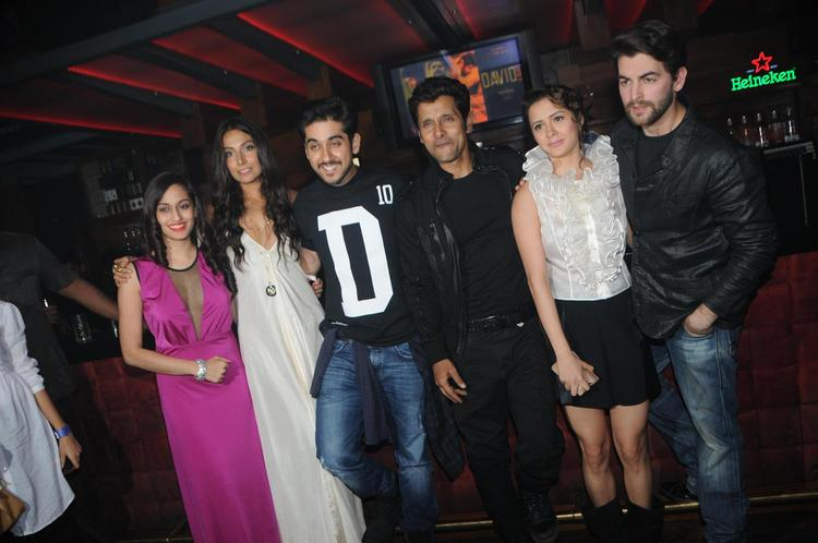 Shweta,Monica,Vinay,Vikram,Isha And Neil Snapped At David Music Launch And Live Music Concert