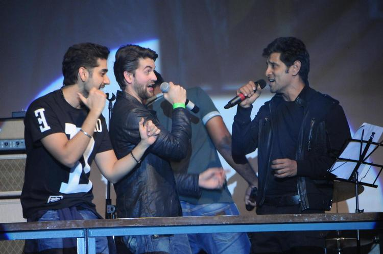 Vinay,Vikram And Neil Snapped At David Music Launch And Live Music Concert