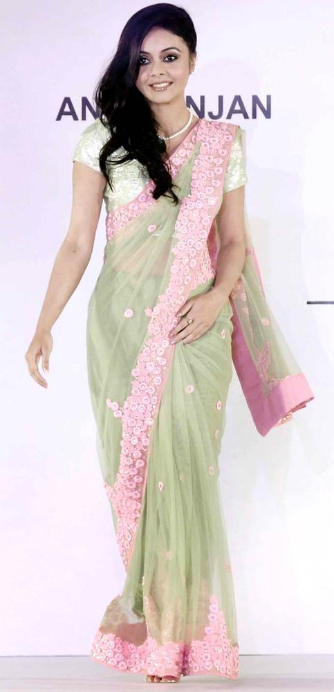 Devoleena Bhattacharjee Walks On Ramp At Beti Fashion Show