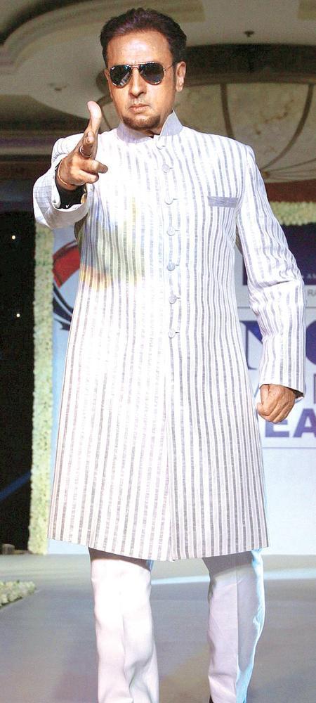 Gulshan Grover Walks On Ramp At Beti Fashion Show