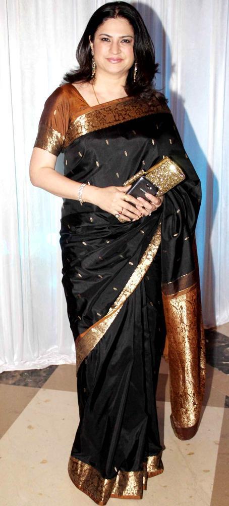 Kunika Lal Strikes A Pose At Beti Fashion Show