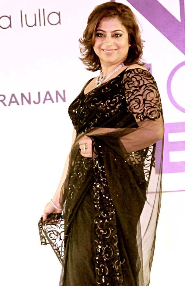 A Model Dazzles On Ramp At Beti Fashion Show