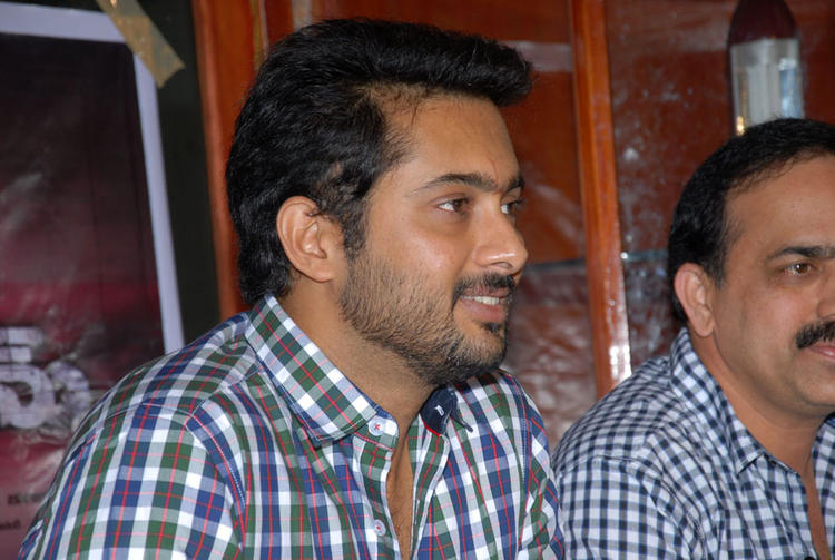 Uday Kiran Smiling Photo Clicked At Jai Sri Ram Trailer Launch