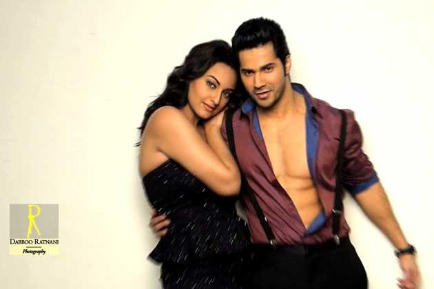 Sonakshi And Varun Cute Sexy Pose Photo Shoot By Dabboo Ratnani