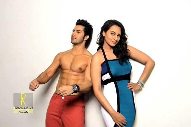 Sonakshi And Varun Glamour Look Photo Shoot By Dabboo Ratnani