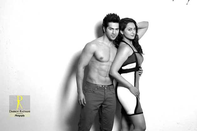 Sonakshi And Varun Spicy Hug Pose Photo Shoot By Dabboo Ratnani