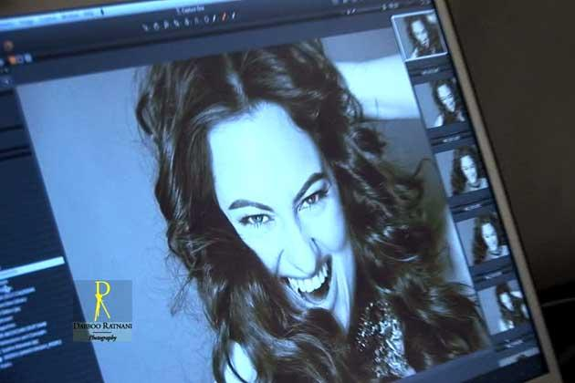 Sonakshi Sinha Photo Clicked From Screen By Dabboo Ratnani