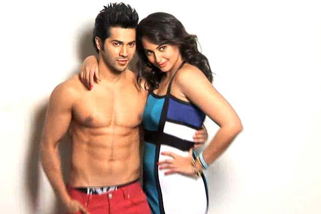 Sonakshi With Varun Sexy Expression Photo Shoot By Dabboo Ratnani