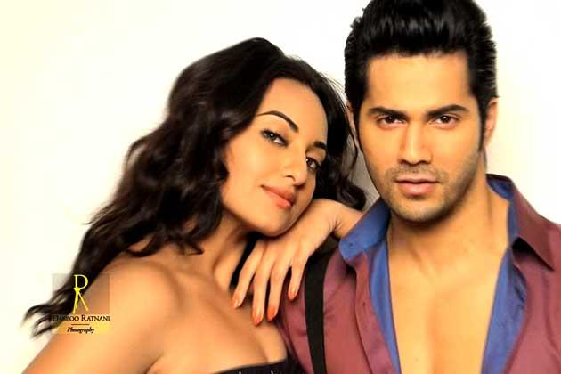 Sonakshi With Varun Sizzling And Attractive Photo Shoot By Dabboo Ratnani