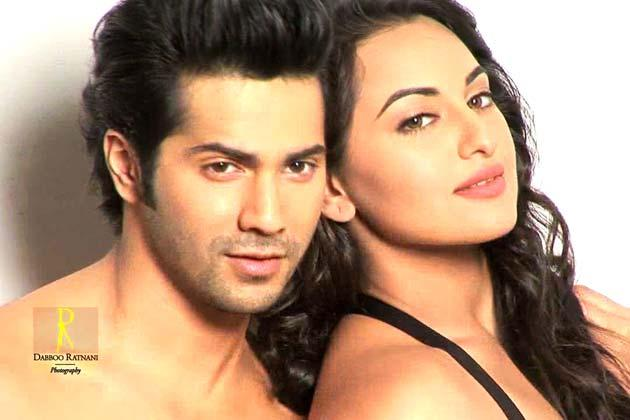 Sonakshi With Varun Spicy Pose Photo Shoot By Dabboo Ratnani